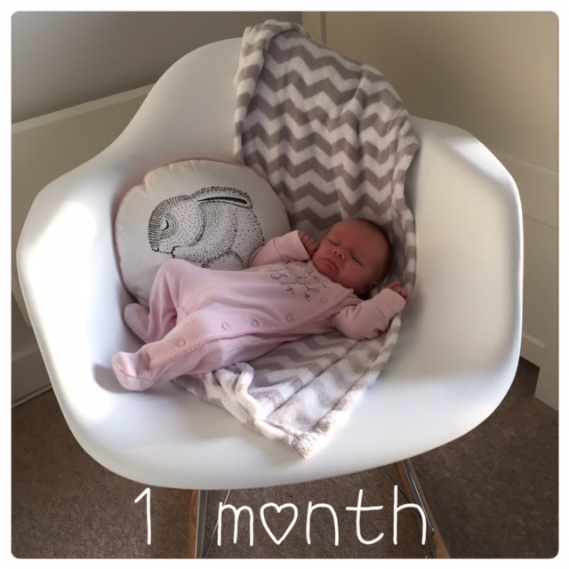 1 month old baby